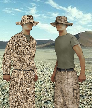 Camouflage Pattern Illustration - FeaturePics.com - A stock image